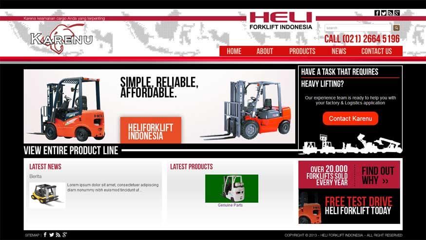 Heli Forklift Indonesia