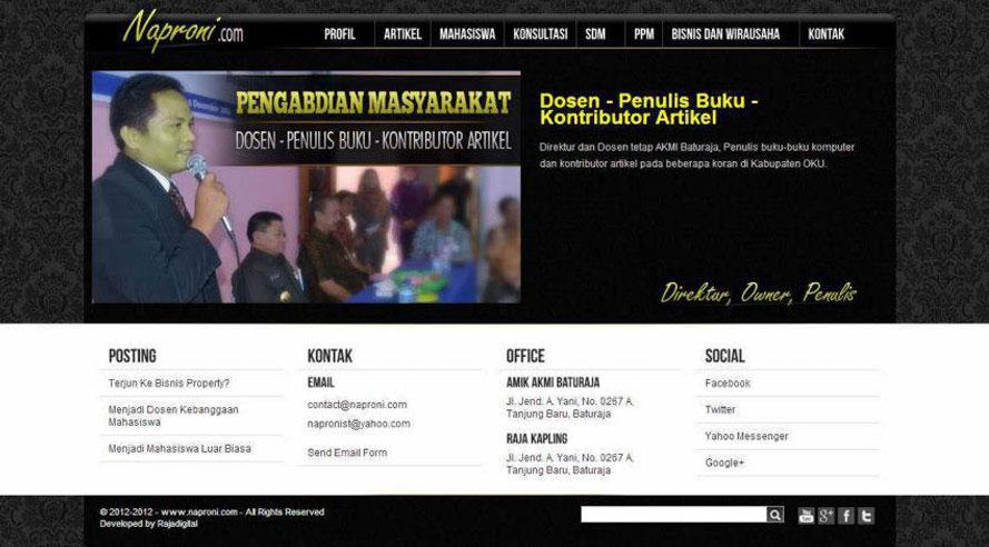 Website Naproni