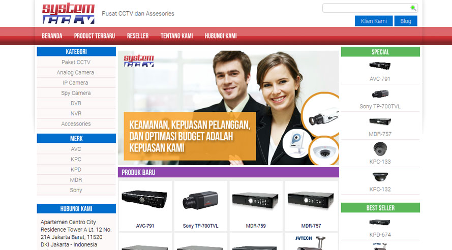 Website Systemcctv