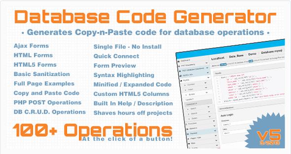 Database-Code-generator