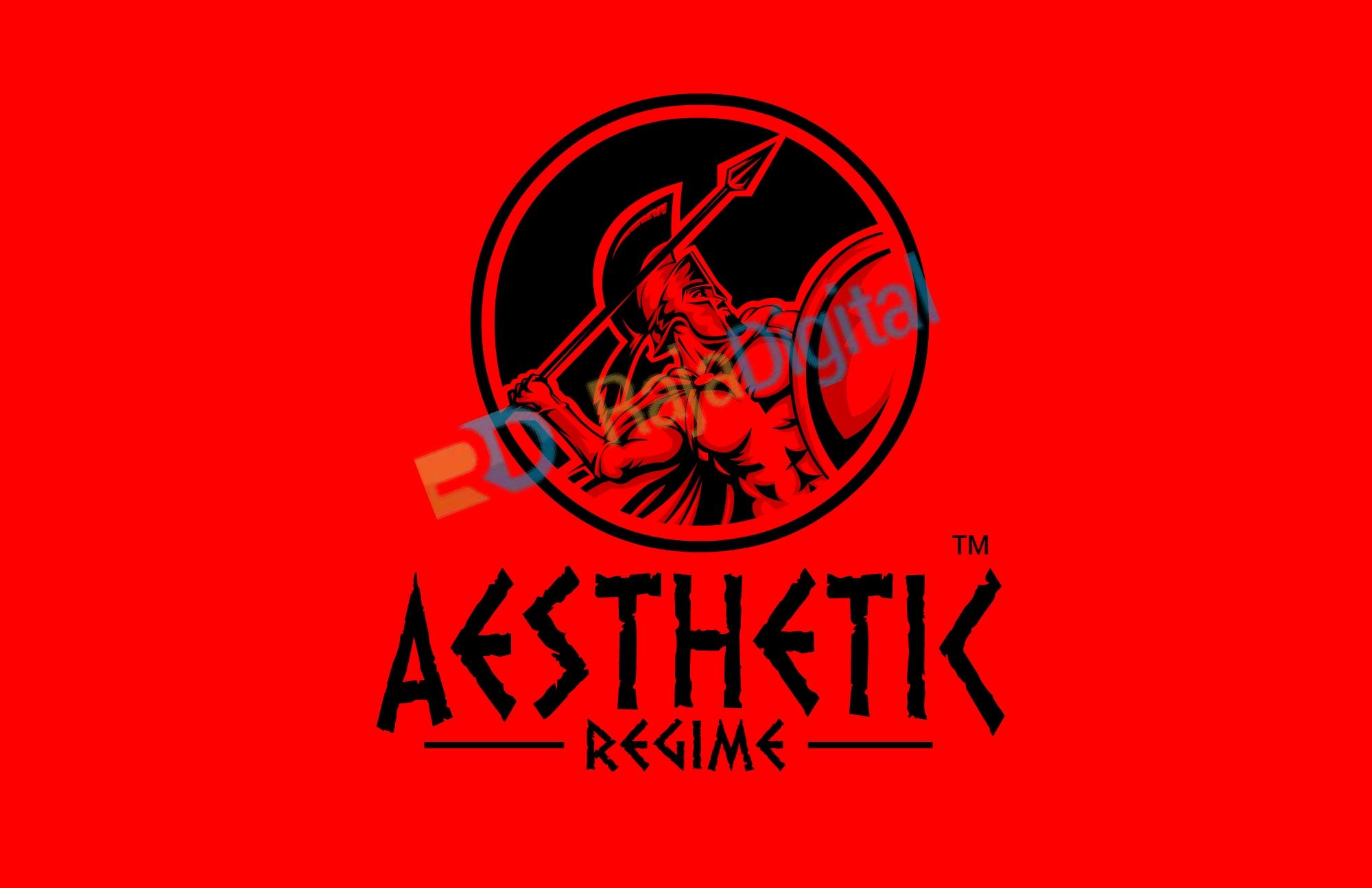 Spartan Roman Logo Red Vector