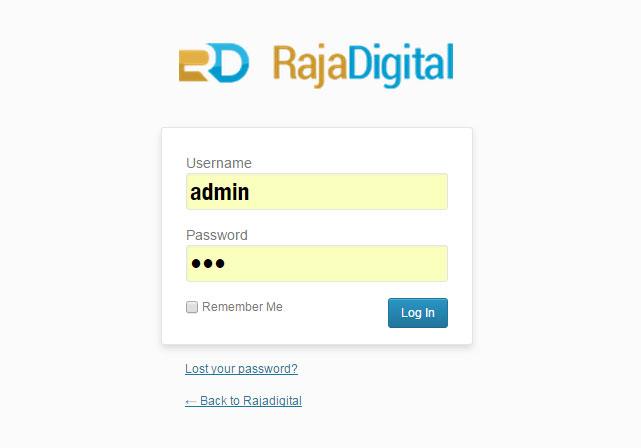 Mengganti Logo di Halaman Login Admin dari Functions   Rajadigital